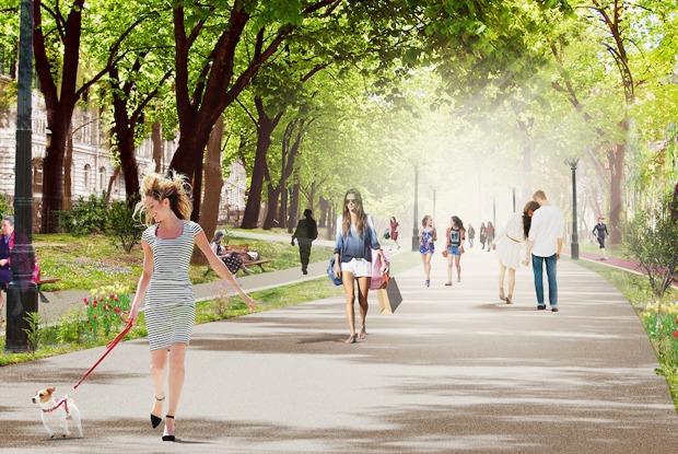 Каким может стать Бульварное кольцо — Общественные пространства на The Village