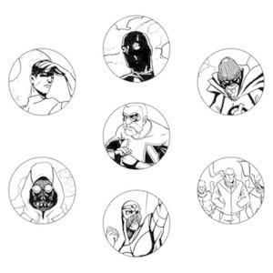 Хранители: Городские супергерои и антигерои
