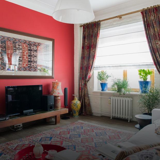 Квартира в Хамовниках с лепниной и ковром ручной работы  — Квартира недели на The Village