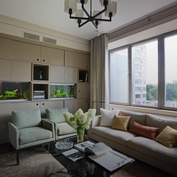 Просторная квартира с винтажной мебелью для большой семьи — Квартира недели на Look At Me