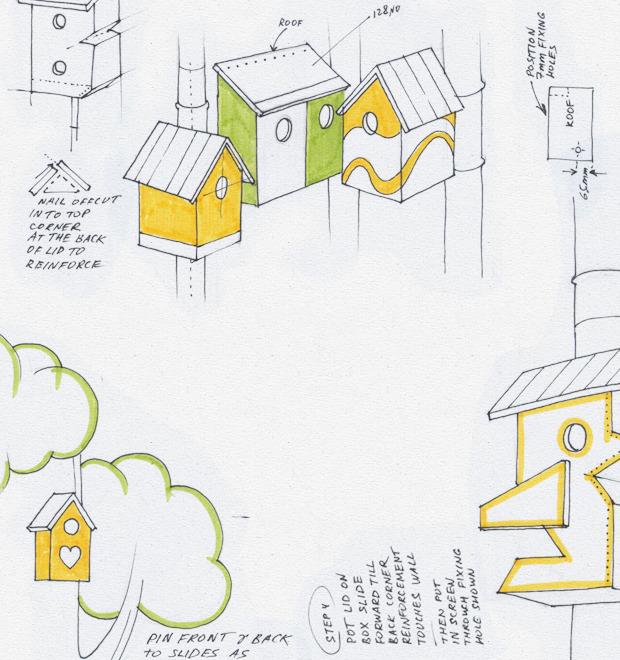 Идеи для города: Скворечники из мусора вДании — Иностранный опыт на The Village