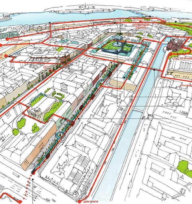 Перестройка: 5 проектов квартала вокруг Конюшенной площади — Перестройка на The Village