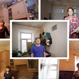 Сколько воды утекло: 5 петербуржцев с протекшей крышей — Ситуация на The Village