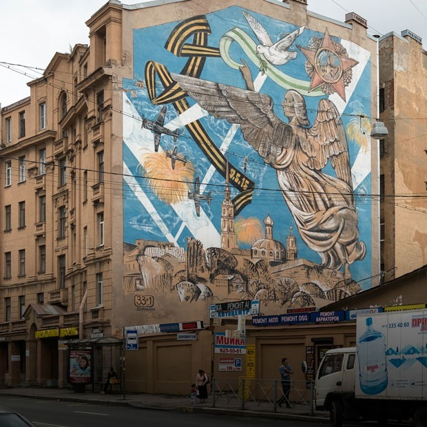 Казус Лизетты: Как Петроградская сторона стала галереей паблик-арта
