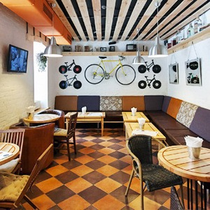 Новое место (Киев): Druzi Cafe — Новое место на The Village