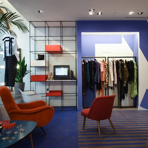 Новый магазин «Секция» в ГУМе