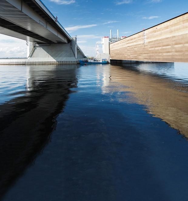 После нас хоть потоп: Как работает дамба в Кронштадте  — Инфраструктура на The Village