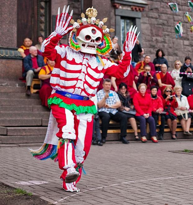 Фоторепортаж: Столетие петербургского дацана — Фоторепортаж на The Village