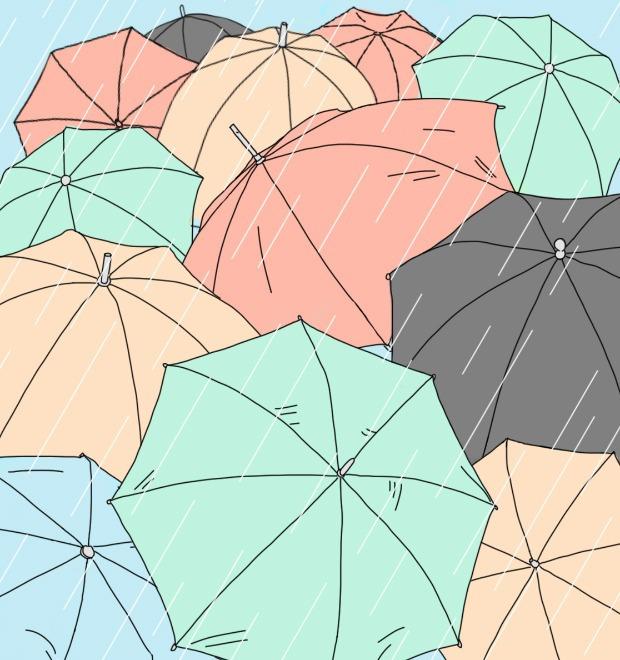 Эксперимент The Village: Делятся ли прохожие зонтами в дождь? — Как всё устроено на The Village