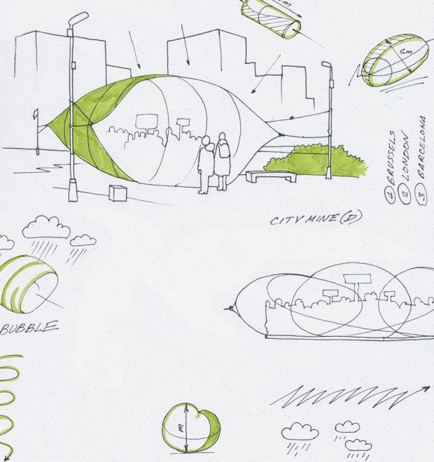 Идеи для города: Пузырь для митингов в плохую погоду — Иностранный опыт на The Village