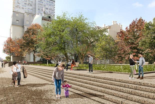 Как бюро Topotek 1 изменит Новый Арбат  — Архитектура на The Village