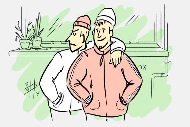 Почему гопники носят шапки выше ушей? — Есть вопрос на The Village