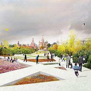 Тема недели: Как выбирали проект для Зарядья — Общественные пространства на The Village