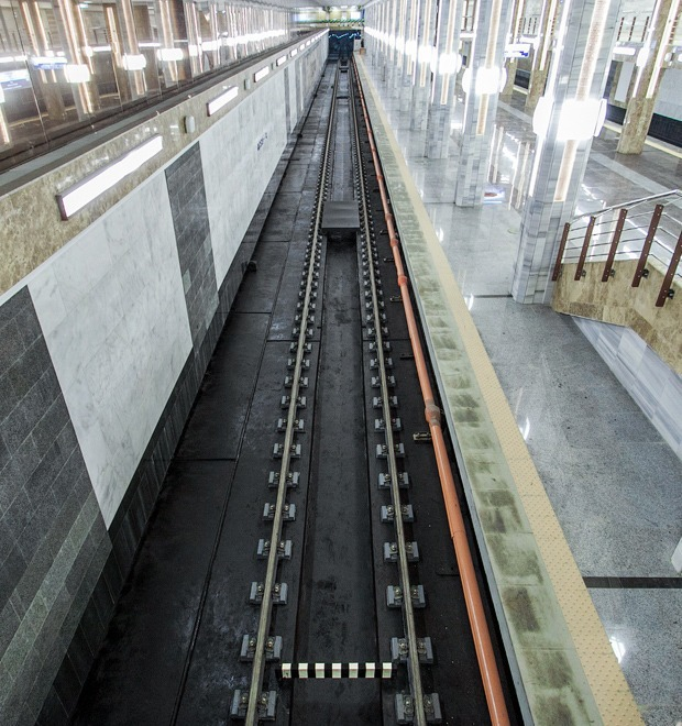 Фоторепортаж: В Киеве открыли новую станцию метро — Фоторепортаж на The Village