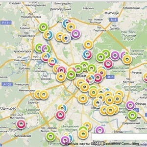 Гринпис составил карту Москвы с пунктами приема вторсырья — Ситуация на The Village