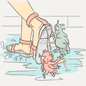 «Опасно ли носить обувь без носков?» — Есть вопрос на The Village