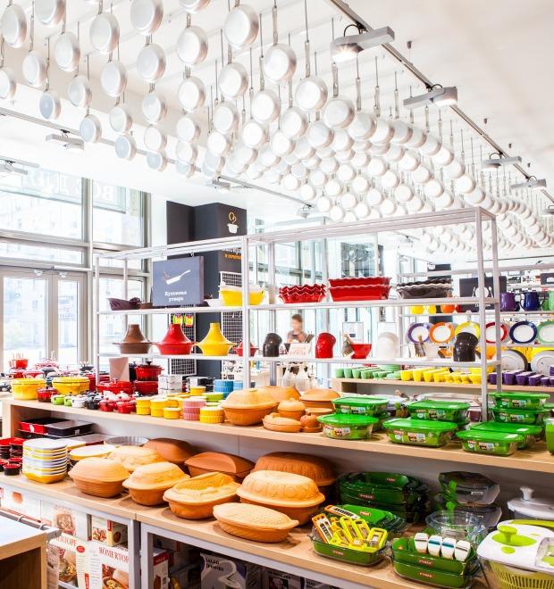 Новое место: магазин Cook House