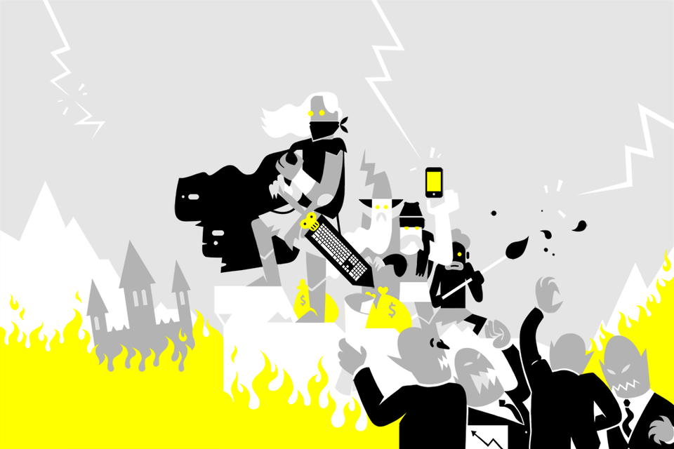 Игры мечтателей: Продажа, война и новая жизнь Dream Industries — Истории на The Village