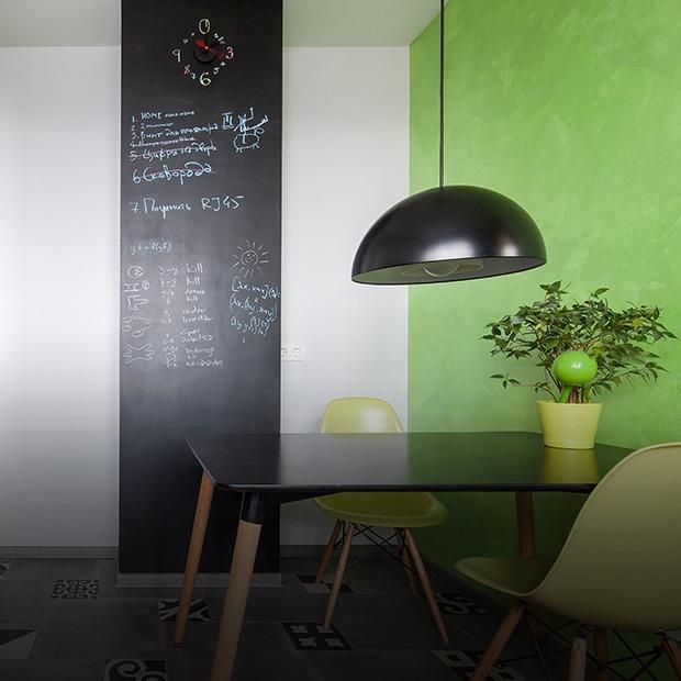 Однокомнатная квартира в Долгопрудном для пары учёных — Квартира недели translation missing: ru.desktop.posts.titles.on The Village