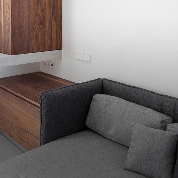 Городской минимализм на 25 квадратных метрах — Квартира недели на The Village