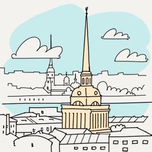 30 июля  — Утро в Петербурге translation missing: ru.desktop.posts.titles.on The Village