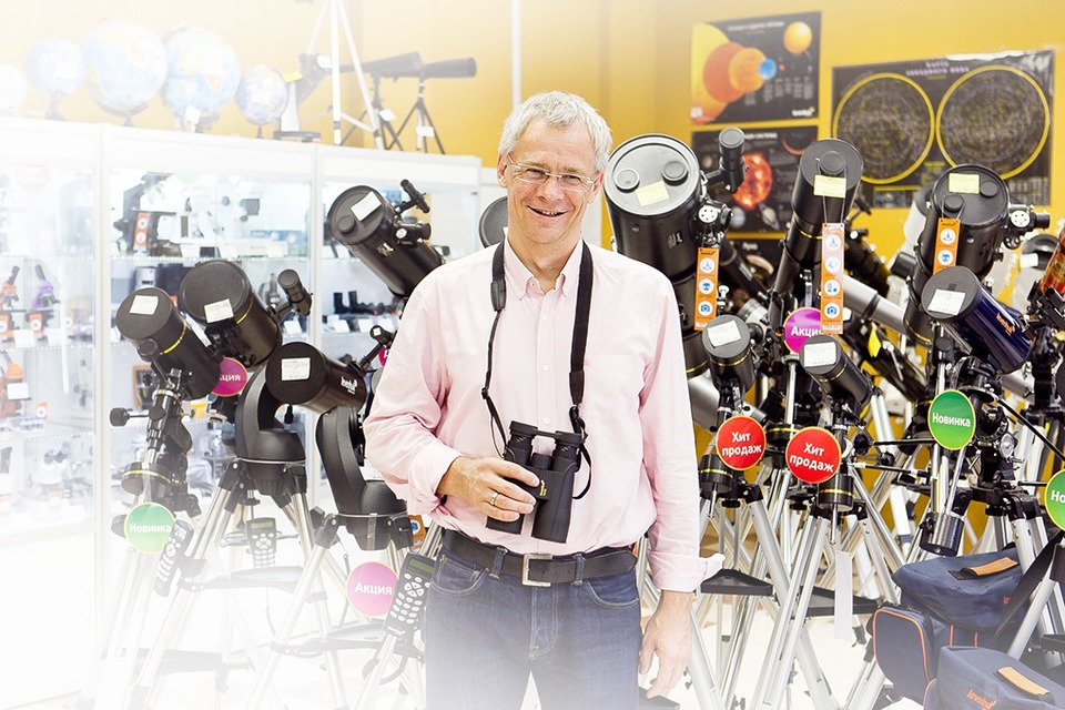 Levenhuk: Миллиардный бизнес на телескопах и микроскопах — Сделал сам на The Village