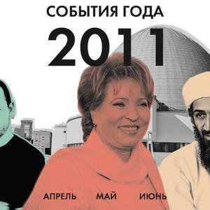 События года: Апрель, май, июнь — Итоги года 2011 translation missing: ru.desktop.posts.titles.on The Village