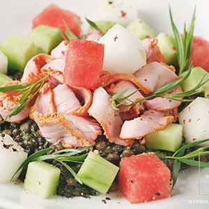 Рецепты шефов: Салат «Курица-тандури»