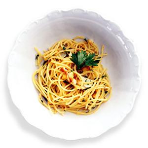 Рецепты шефов: Spaghetti Aglio, Olio e Peperoncino — Рецепты шефов на The Village