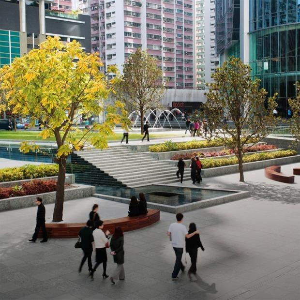 Как выглядят общественные пространства в Гонконге, Бильбао и других городах мира — Как у них на The Village