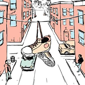 Есть вопрос: «Почему на проводах висят кроссовки?» — Город на The Village
