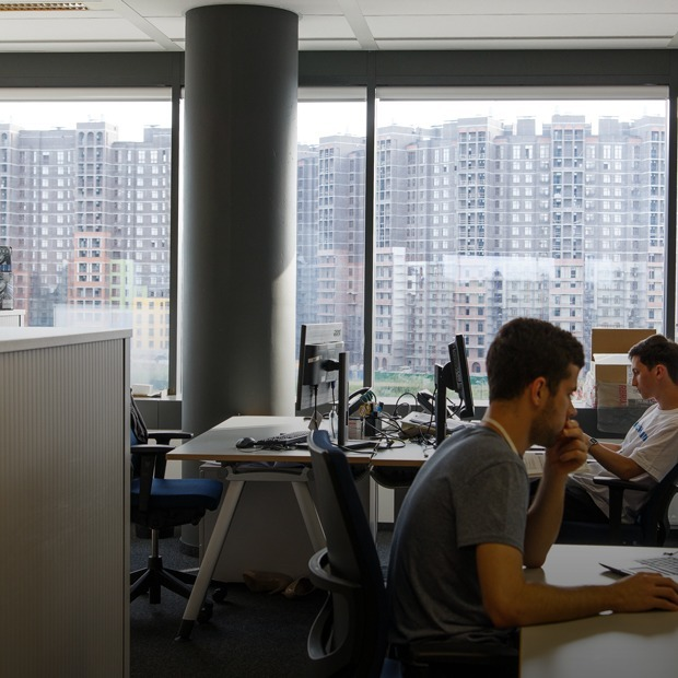 Как выглядит российская штаб-квартира Bosch — Интерьер недели на The Village