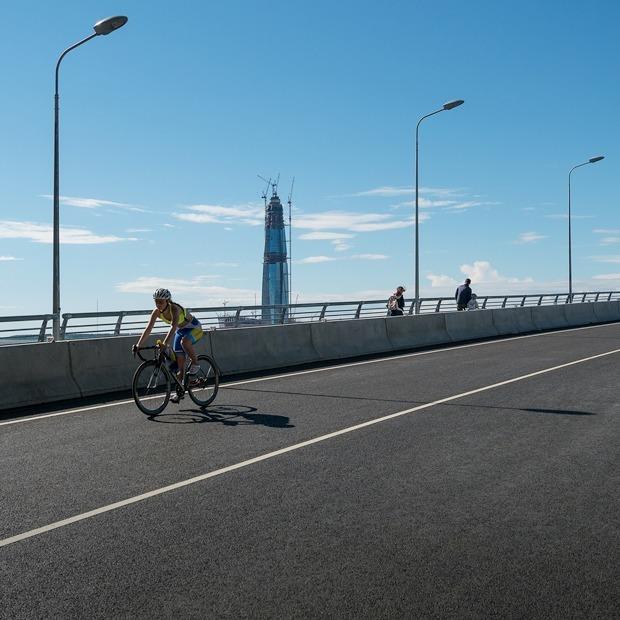 От Фонтанки до Пискаревского: Тестируем новую городскую сеть велодорожек — Эксперимент на The Village