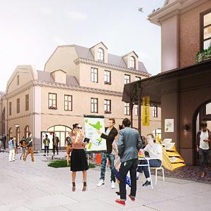 Проект недели: Обновлённый Апраксин двор  — Город на The Village