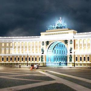 Арку Главного штаба подсветят по примеру Бранденбургских ворот — Архитектура на The Village