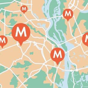 Округлые формы: Киевская кольцевая наземного метро — Транспорт на The Village