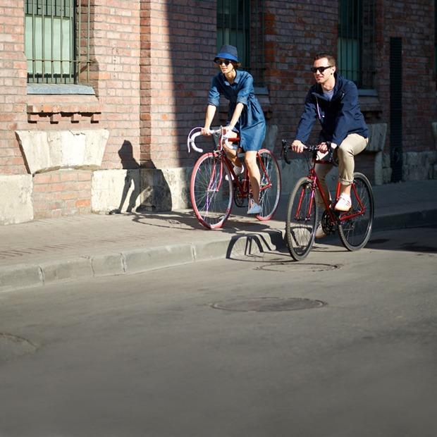 В чём кататься на велосипеде — Съёмки на The Village