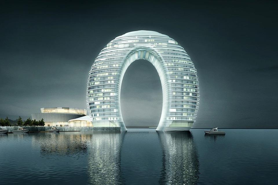 Hopes Tech: 15 самых эффектных небоскрёбов мира — Будущее на Look At Me