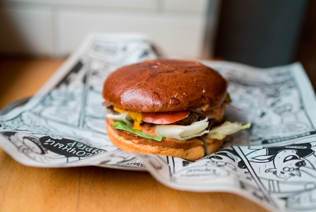 Домашнее порно гамбургер