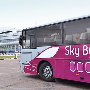 Билеты на автобус Sky Bus начали продавать через интернет — Ситуация на The Village