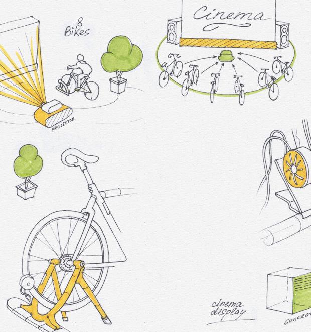 Идеи для города: Велосипедные кинотеатры вВеликобритании — Иностранный опыт на The Village