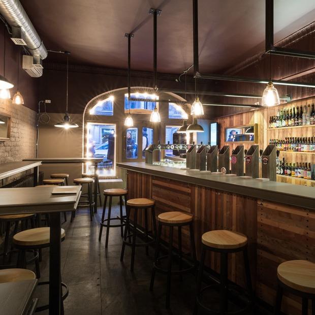 Бар Format Beer & Prints на улице Рубинштейна — Место на The Village