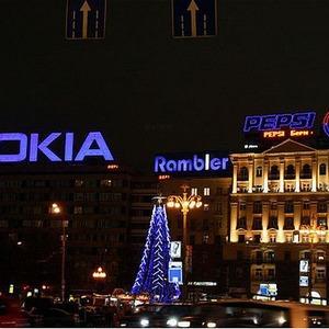 В Москве запретят рекламу на перетяжках и сетках — Ситуация на The Village