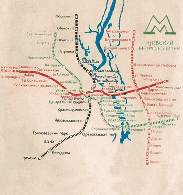 В Киеве собираются строить метро на Виноградарь — Город на The Village
