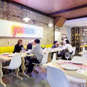 Новое место (Киев): Ресторан-дайнер «Желток» — Новое место на The Village