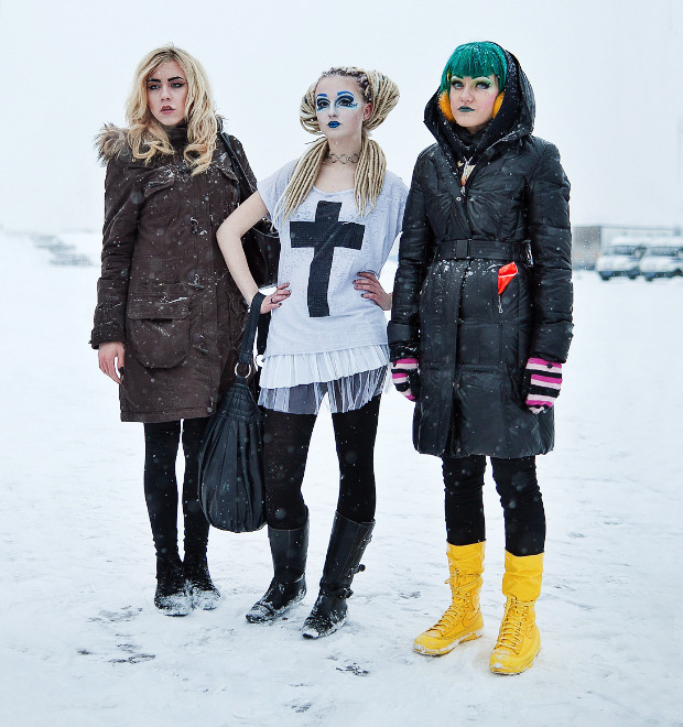 Люди в городе: Посетители концерта Lady Gaga в Москве и Петербурге — Люди в городе на The Village