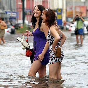 Высокий уровень: Метеоролог Виктория Бойко — об угрозе паводка — Ситуация на The Village
