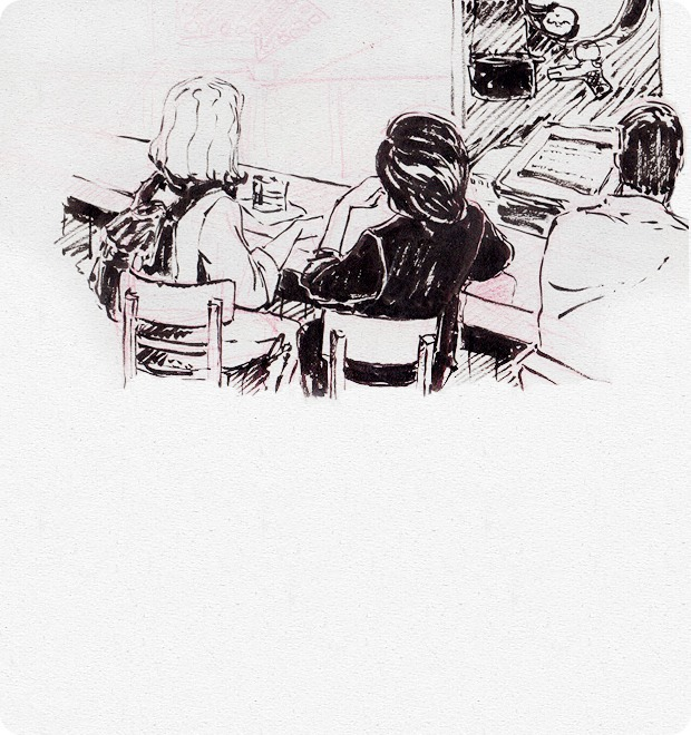 Клуб рисовальщиков: Бар «Куклы пистолеты» — Клуб рисовальщиков на The Village