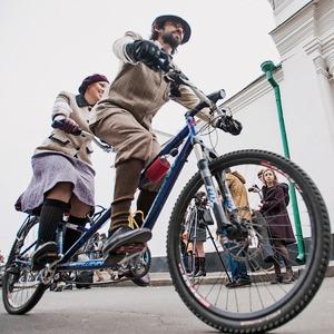 Second Time: В Киеве прошёл второй велокруиз в стиле ретро — Внешний вид на The Village