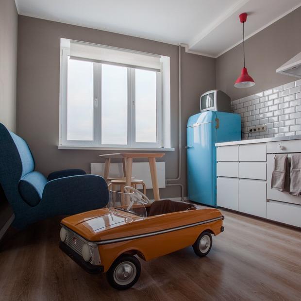 Уютная квартира с коллекцией советского дизайна (Петербург) — Квартира недели на The Village